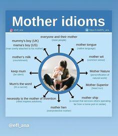 English Idioms, English Fun, English Study, English Lessons, English Vocabulary, English Grammar, English Language, English Teaching Materials, Teaching English