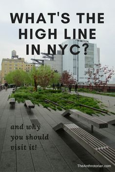 What's The High Line In New York City and Why Should You Visit It?