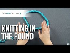 Learn how to knit in the round with this easy tutorial straight from AllFreeKnitting.com's craft studio. You will learn the fundamentals of knitting in the round, as well as how to apply this skill to a variety of different