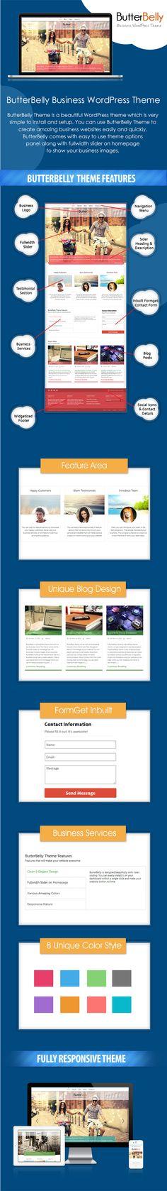 Elegant & Responsive WordPress Business Theme