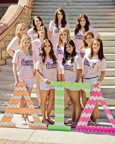 Alpha Gamma Delta at Arizona State University #AlphaGammaDelta #AlphaGam #founders #letters #chevron #neon #sorority #ASU