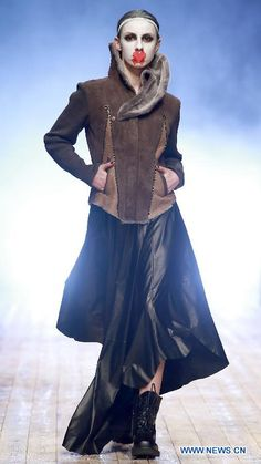 Tanya's haute couture collection released at Beijing Fashion week