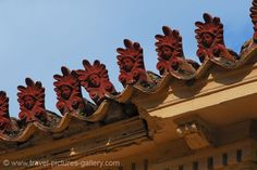 Athens - decorated roof tiles , Plaka. Image courtesy of Travel Pictures Gallery W2C