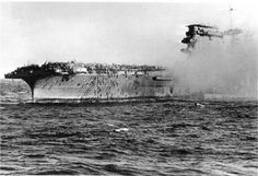 "Aircraft carrier ""Lexington"", 08.05.1942"