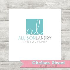 SALE  Premade logo and watermark design  by chelseastreetdesigns, $20.00
