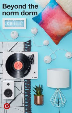 Mix & match your college student's dorm interiors with trendy string lights, rugs, cushions & more.