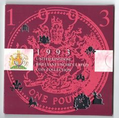 1993 United Kingdom brilliant uncirculated coin collection the royal mint