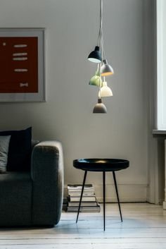 As from 1. February, it will be possible to add another dash of colour and light to the home when Louis Poulsen launches a range of completely new and different colour combinations in the popular range of Toldbod 120 pendants.
