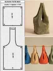 Lunch Bag/ Japanese Knot Bag/ Wristlet/ Shoulder Bag / road trip bag (Multi Color & Pattern)- Ready to Ship - Sewing Hacks, Sewing Tutorials, Sewing Crafts, Sewing Projects, Sewing Tips, Hobo Bag Tutorials, Free Sewing, Diy Projects, Bag Patterns To Sew