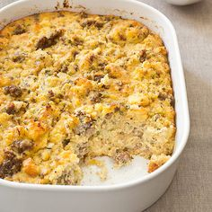 Want a turkey stuffing that has all the flavor of homemade cornbread and smoky sausage? Our Cornbread and Sausage Stuffing does the trick.