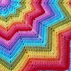 25 Beste Afbeeldingen Van Regenboog Haken Yarns Crochet Patterns