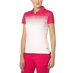PWRCOOL Colorblock Fade Golf Polo Shirt - US