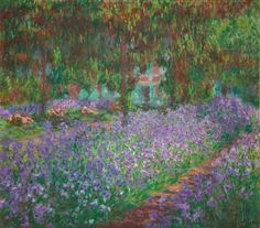Claude Monet_Le jardin de l´artiste à Giverny_1900 https://dashburst.com/david-goldberg/299