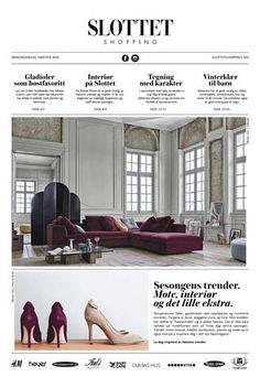 Høst 2016  Magasin Slottet Shopping Høst 2016