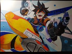 Tracer by billypower_Art