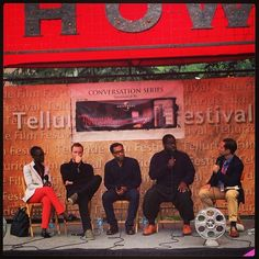 | Telluride -- 12 YEARS A SLAVE | Lupita Nyong'o, Michael Fassbender, Chiwetel Ejiofor, and Steve McQueen participate in a Q & A after a successful screening!