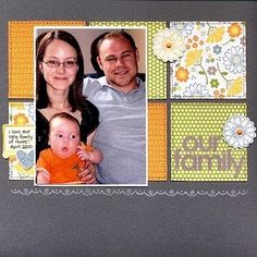 Layout by Cherie Nymeyer #scrapbook #layout