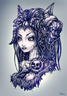 ✯ Darksider Sketch :: Artist Timothy John Shumate ✯