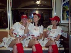Awesome �League of Our Own� Girls Group Costume...