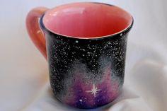 Galaxy Coffee Mug.  via Etsy.