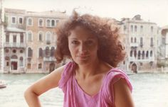 Diane enjoying the magic of Venice on the Grand Canale in 1984. See more: http://on.dvf.com/1haIuWG #DVFsummer