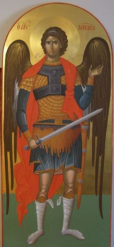 11219385_579550382199332_7649624688857577915_n Byzantine Icons, Byzantine Art, Religious Icons, Religious Art, Russian Icons, Archangel Michael, Catholic Art, Art Icon, Knights Templar