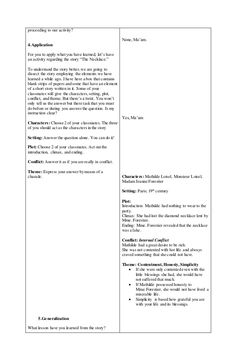 A Detailed Lesson Plan in English – Grade 8 I. Objectives At the end of the lesson, of the students with level of proficiency shall be able to: a) Dis… English Lesson Plans, English Lessons, Short Stories, How To Apply, Student, Let It Be, How To Plan, Learning, Lp