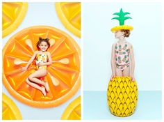 Featurekins // Summer Symmetry | Babiekins Magazine  kids fashion photographer, alix martinez
