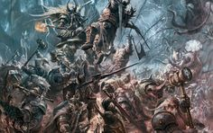 A Dwarf army on the war-march