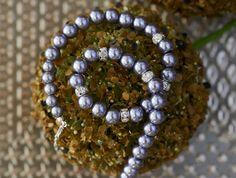 Gray pearl necklace bridesmaid gift bridesmaid by asteriasbridal