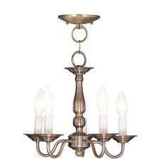 Livex  Williamsburg 5011 Ceiling Light  13W in. - $129.9 @hayneedle