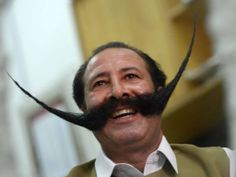 Move over, mo bros. In case you were feeling an overweening sense of pride about your facial hair growing capabilities, you might want to sit this one out. From gravity-defying staches to extended lengths of thick cables of hair, each mustache embod