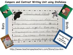 Using the book Stellaluna to compare and contrast a bat and a bird.  This unit has so many fun activities while learning and practicing informative writing.  My students loved the 3D artwork!