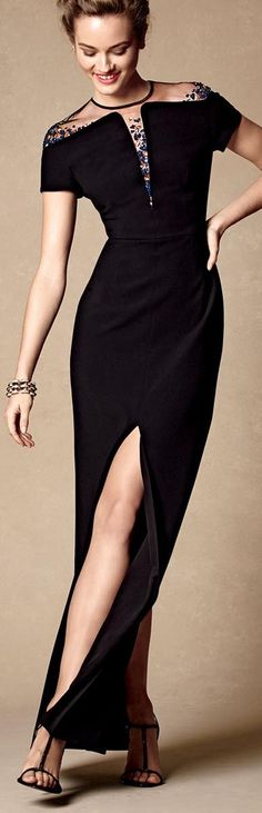 Escada Beaded Gown