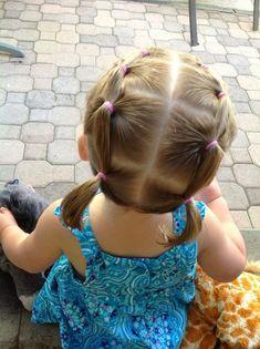 Hermoso peinado para una niña