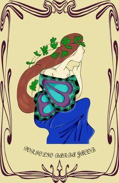 Ilustración Wacom art nouveau Bowser, Art Nouveau, Fictional Characters, So Done, Fantasy Characters