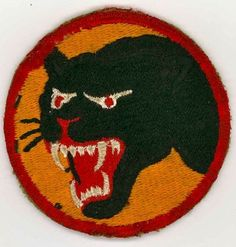 Original WWII U.S. Army 66th Infantry Division Cat Shoulder  Sleeve Patch