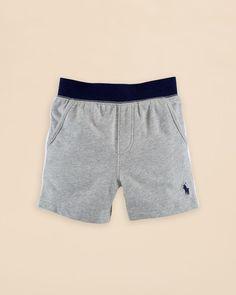 Ralph Lauren Childrenswear Infant Boys' Pull On Shorts - Sizes 6-24 Months
