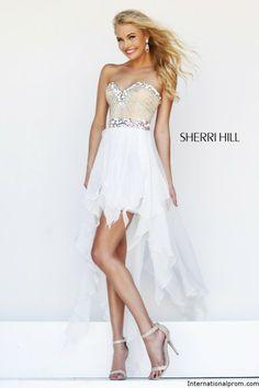 Sherri Hill 4802 Cowl Back Beaded Prom Dress | PAGEANT WEAR ...