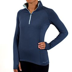Free Fly Apparel Bamboo midweight 3/4 zip UPF 50+ Sun Protection  Naturally odor resistant  Insulates and cools down  Moisture wicking