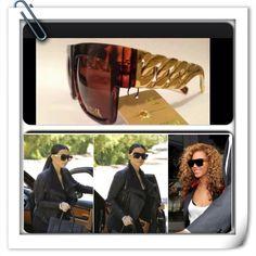 Celeb inspired chain link sunglasses Brand new Accessories Sunglasses