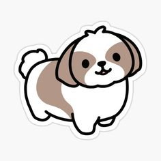 Tienda de littlemandyart | Redbubble Stickers Cool, Preppy Stickers, Kawaii Stickers, Cat Stickers, Printable Stickers, Funny Stickers, Cute Little Drawings, Cute Cartoon Drawings, Cute Animal Drawings