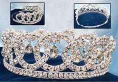 "Grand Duchess Vladimir's Crown Tiara Bridal - This of course only resembles the tiara for which it is named - it has no royal connections, and should  not be mistaken for one that does. (I've seen this one pinned up to boards displaying the ""real deal"" where of course it isn't.)"