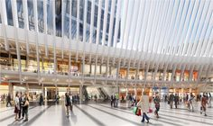 Santiago Calatrava's World Trade Center Transportation Hub has finally opened in Lower Manhattan, over 10 years after the Spanish architect first unveiled hi...