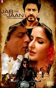 Jab Tak Hai Jaan is an upcoming 2012 Bollywood film directed by Yash Chopra, written and produced by Aditya Chopra under their production house Yash Raj Films. The film features Shahrukh Khan, Katrina Kaif and Anushka Sharma in pivotal roles, making it the first film to pair Khan and Kaif and the second collaboration between Khan and Sharma. This is Yash Chopra's fourth film to feature Khan in the lead role.