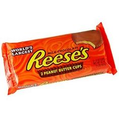 Reese's Giant Easter Candy, World's Largest Reese's Peanut Butter Cups, Milk Chocolate, Perfect as an Easter Basket Stuffer Gift, 1 Pound Bar Peanut Butter Candy, Chocolate Peanut Butter, Chocolate Bars, Reese Cup, Yummy World, Favorite Candy, Cookies And Cream, Gourmet Recipes, Sweets