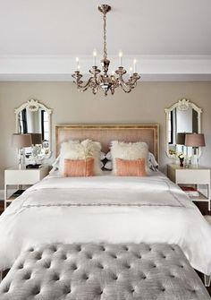 the-design-co.-master-bedroom-neturals-with-peach-and-grey-tones