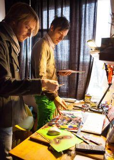 ArtBanana náhlíží do ateliérů: Matěj Olmer Online Galerie, Contemporary, Artist, Fictional Characters, Atelier, Artists, Fantasy Characters