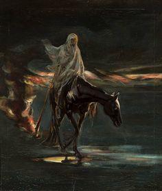"Adam ""Albert"" Chmielowski - Death and conflagration. Circa 1870"