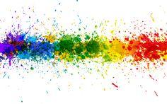 Transparent Rainbow Splash Line Background b56c8c11821d0